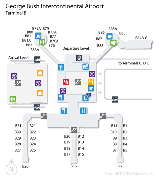 map of houston international airport bnhspinecom