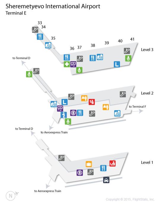 Шереметьево svo терминал d схема